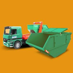 RM3 green rubbish collector Harold Wood