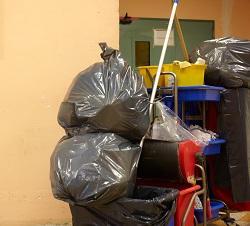 E16 clearing junk service Custom House