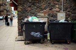 commercial waste & removal W8